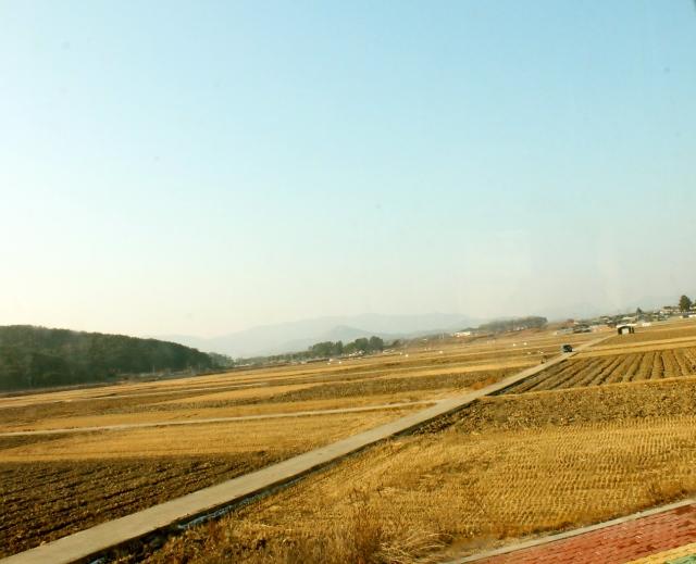 GyeongJu Countryside; Decemeber 2013